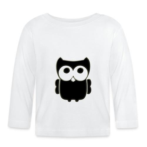 ugler5-png - Langærmet babyshirt