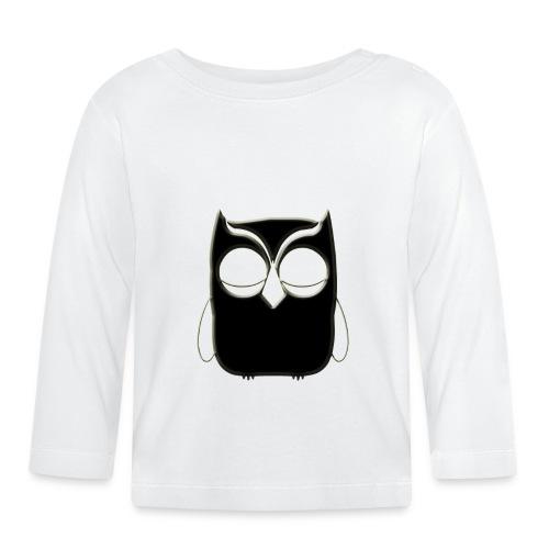 ugler23-png - Langærmet babyshirt