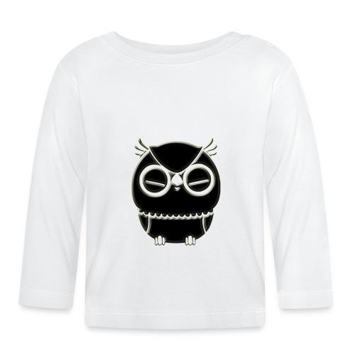 ugler13-png - Langærmet babyshirt
