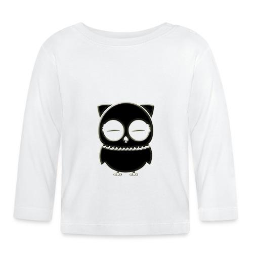 ugler6-png - Langærmet babyshirt