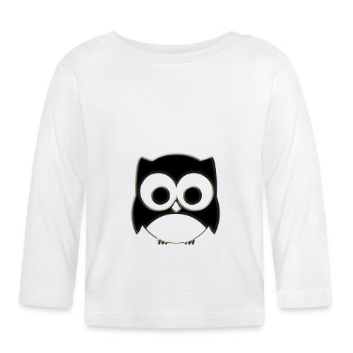 ugler21-png - Langærmet babyshirt