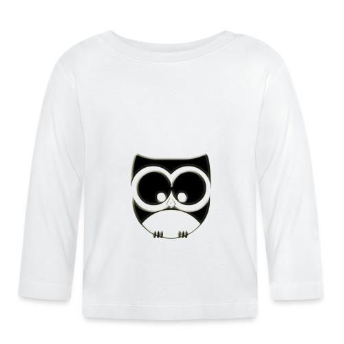 ugler20-png - Langærmet babyshirt