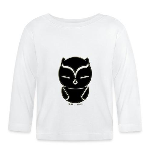ugler4-png - Langærmet babyshirt