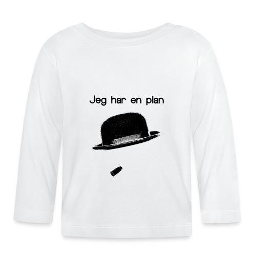 Citater-jegharenplan-png - Langærmet babyshirt