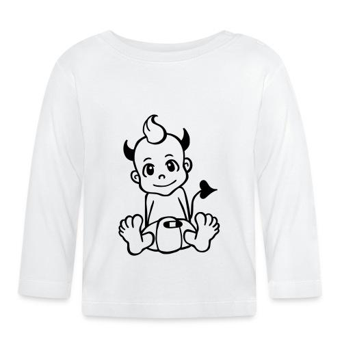Kleiner Teufel - Baby Langarmshirt