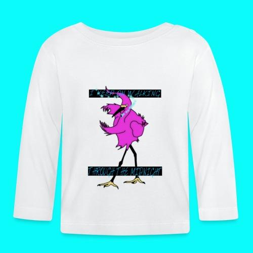 MIDNIGHT BIRD T-SHIRT - Långärmad T-shirt baby