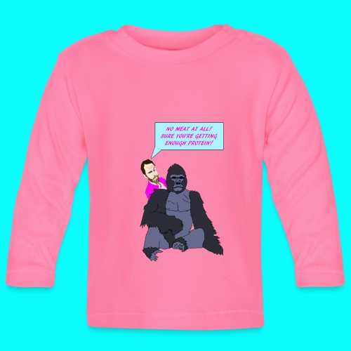 VEGAN GORILLA T-SHIRT - Långärmad T-shirt baby