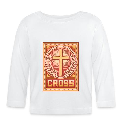 Cruz - Camiseta manga larga bebé