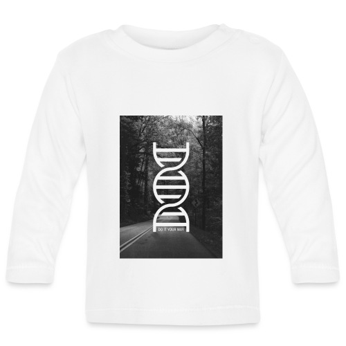 Fotoprint DNA Straße - Baby Langarmshirt