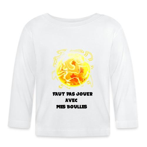 T shirt DBZ - T-shirt manches longues Bébé