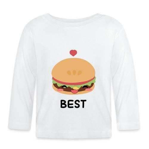 hamburger - Maglietta a manica lunga per bambini