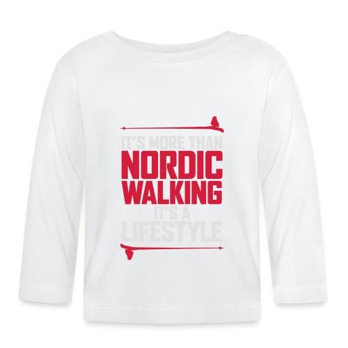 It's more than Nordic Walking - Vauvan pitkähihainen paita
