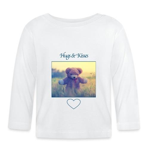 Hugs & Kisses: Phone Case - Baby Long Sleeve T-Shirt