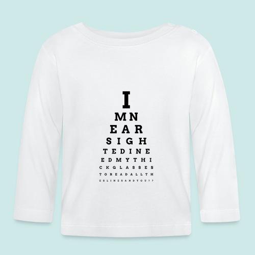 Eyechart Bold 2 - T-shirt manches longues Bébé