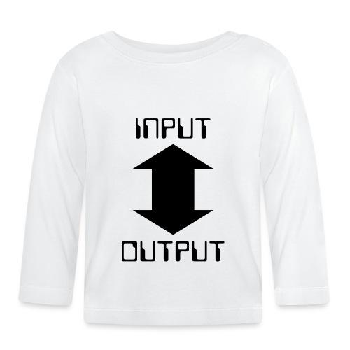 input-output - Baby Langarmshirt