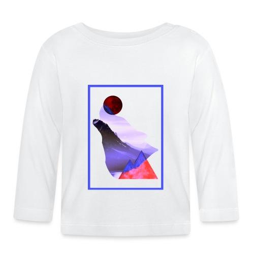 Måne Ulv - Laurids B Design - Langærmet babyshirt