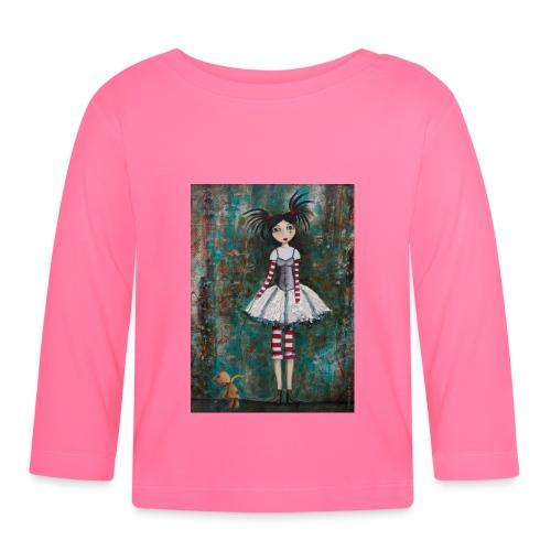 prinsess goth - T-shirt manches longues Bébé