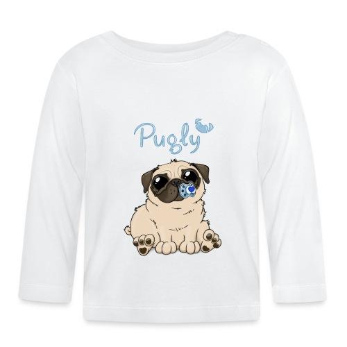 Bobo Pug - Långärmad T-shirt baby