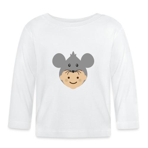Mr Mousey | Ibbleobble - Baby Long Sleeve T-Shirt