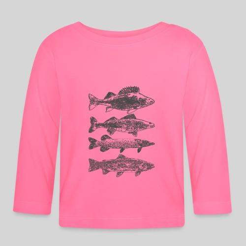 in the deep lake - Vauvan pitkähihainen paita