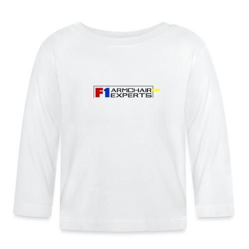 F1 Armchair Experts Logo BK - Baby Long Sleeve T-Shirt