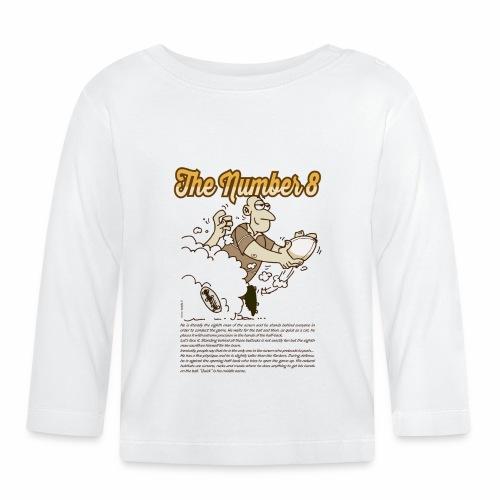 Eight_Marplo.png - Maglietta a manica lunga per bambini