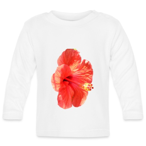 A red flower - Baby Long Sleeve T-Shirt