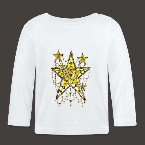 ETOILE DENTELLE JAUNE - T-shirt manches longues Bébé