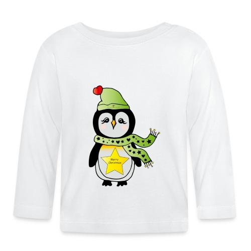 Christmas Pinguin - Baby Langarmshirt