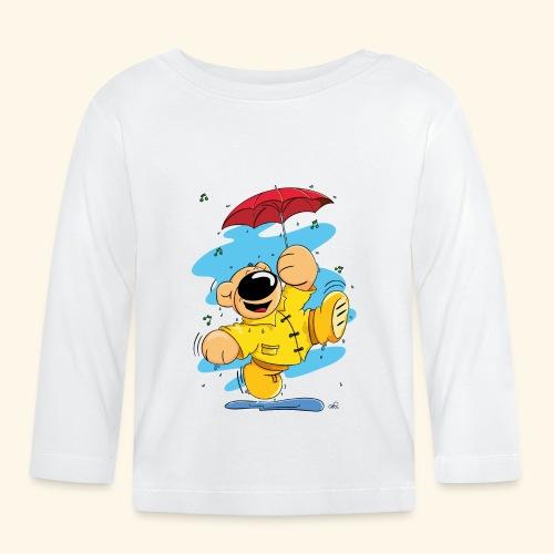 Der Bär tanzt im Regen - Baby Langarmshirt
