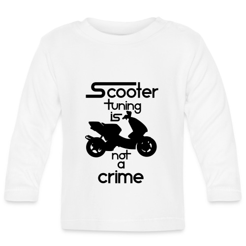Scooter tuning is not a crime! Vol. III HQ - Baby Langarmshirt