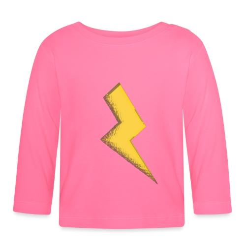 Fulmine - Maglietta a manica lunga per bambini