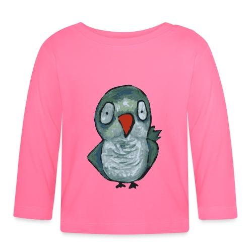 green parrot - Maglietta a manica lunga per bambini