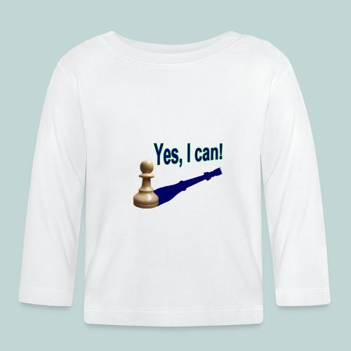 Yes, I can! 1 - Baby Langarmshirt