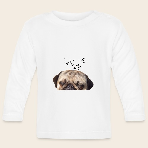 mops-schnarcht - Baby Langarmshirt
