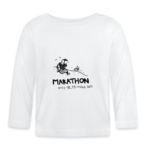 marathon-png - Koszulka niemowlęca z długim rękawem