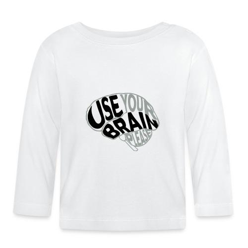 Use your brain - Maglietta a manica lunga per bambini