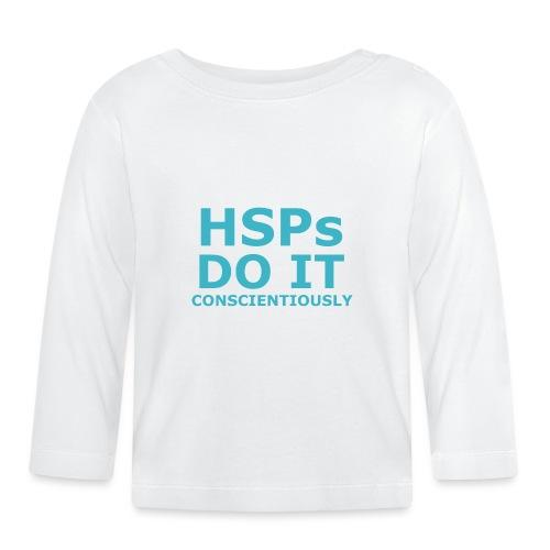 Do It hsPs women's t-shirt - Baby Long Sleeve T-Shirt