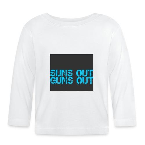 Felpa suns out guns out - Maglietta a manica lunga per bambini