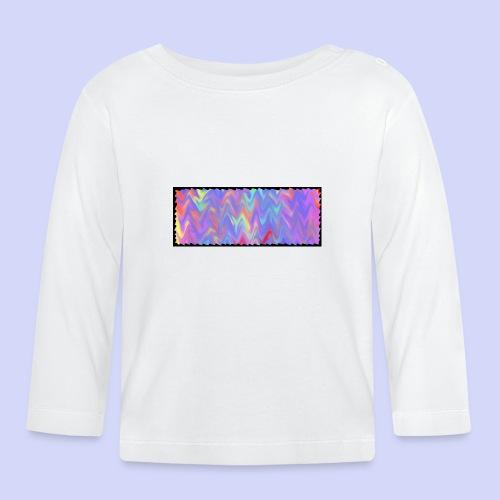 faded colors - evening cup - Langærmet babyshirt