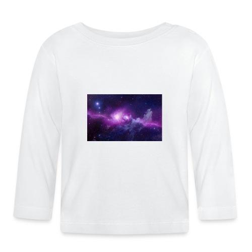 tshirt galaxy - T-shirt manches longues Bébé