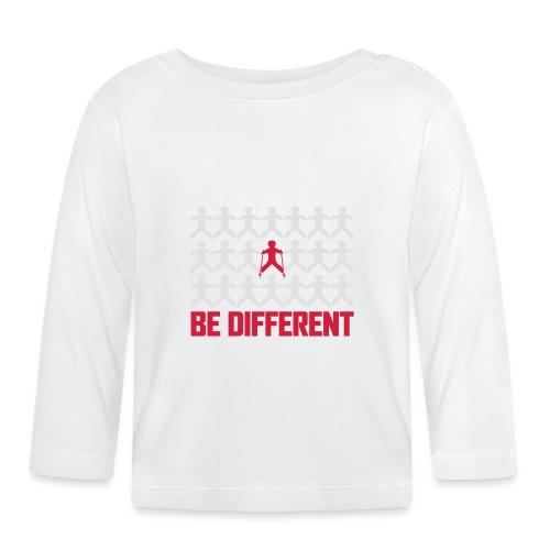 Nordic Walking - Be Different - Vauvan pitkähihainen paita