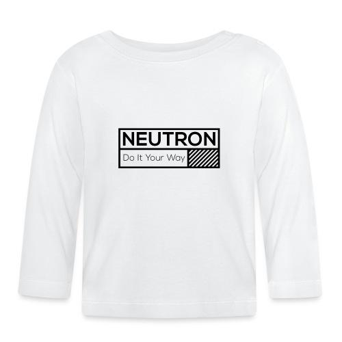 Neutron Vintage-Label - Baby Langarmshirt