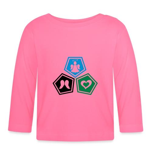 Tee shirt baseball Enfant Trio ange, ailes d'ange - Baby Long Sleeve T-Shirt