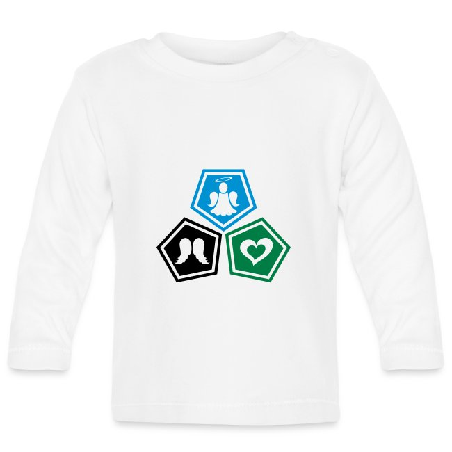 Tee shirt baseball Enfant Trio ange, ailes d'ange