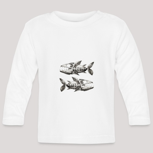 FishEtching - Baby Long Sleeve T-Shirt