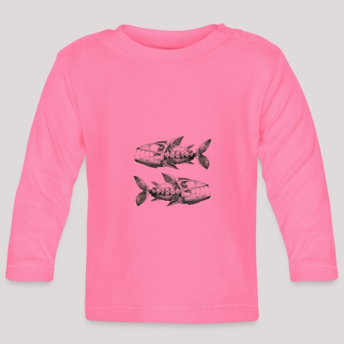 FishEtching - Baby Long Sleeve T-Shirt