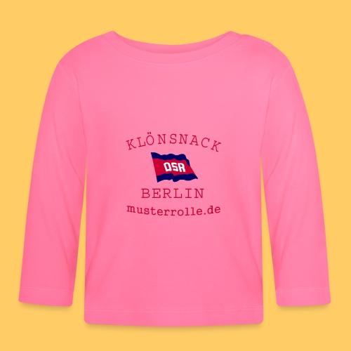 KiB-Logo-gif - Baby Langarmshirt
