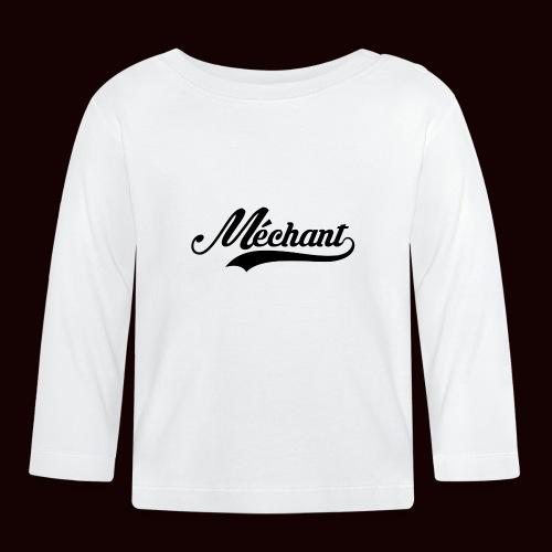mechant_logo - T-shirt manches longues Bébé