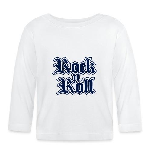 Rock n' Roll - Baby Langarmshirt